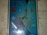 samsung galaxy core prime lettin go cheap just di top glass crack full