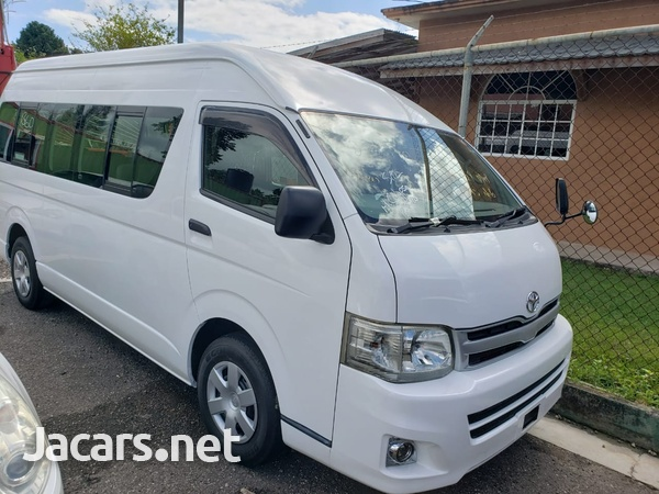 2011 Toyota Hiace GL Bus-1
