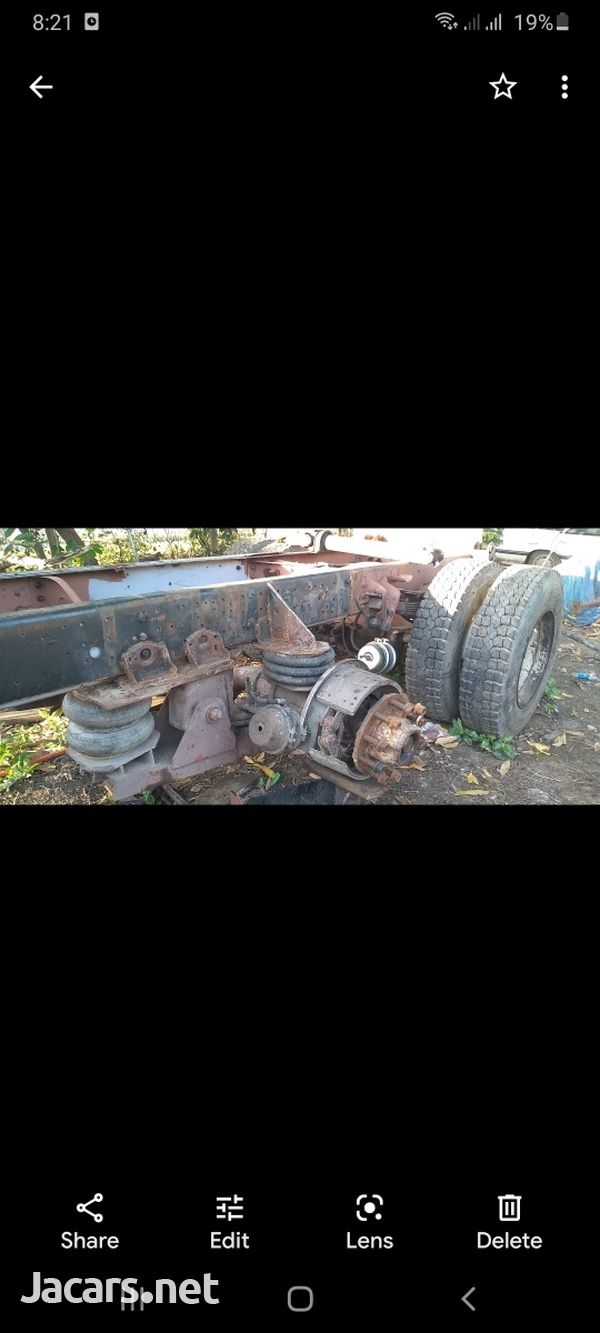 truck drop axel