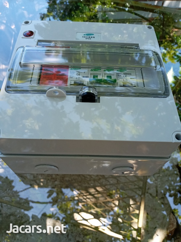Combiner box, for solar systems.-3
