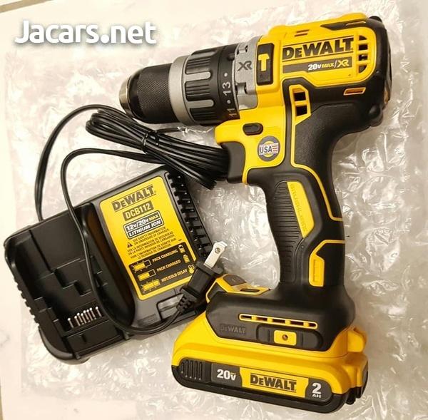Dewalt Hammer Drill SPECIAL OFFER 2 Batteries-1