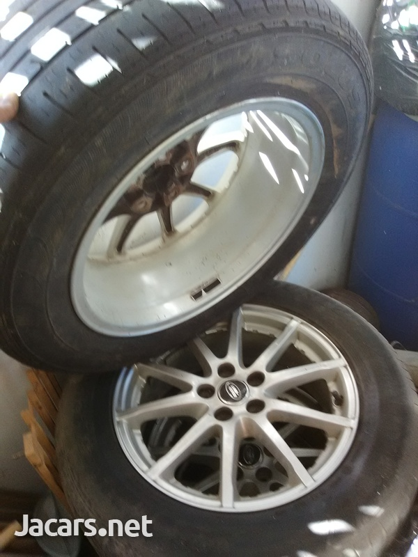 4x17 inch rims fits Land Rover-1