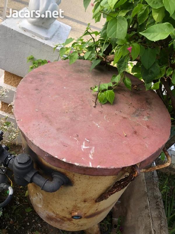 Used Clemco Sandblasting Pot-2