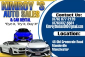 Kimroys Auto sales & Rental