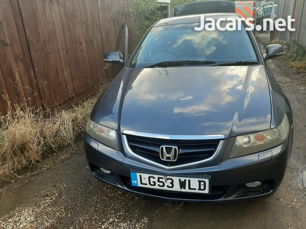 honda accord 2.4 auto petrol breaking for spares k24 engine-1