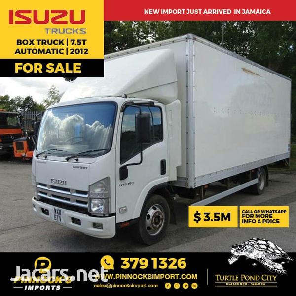 2012 Isuzu Box Truck 7.5T-1