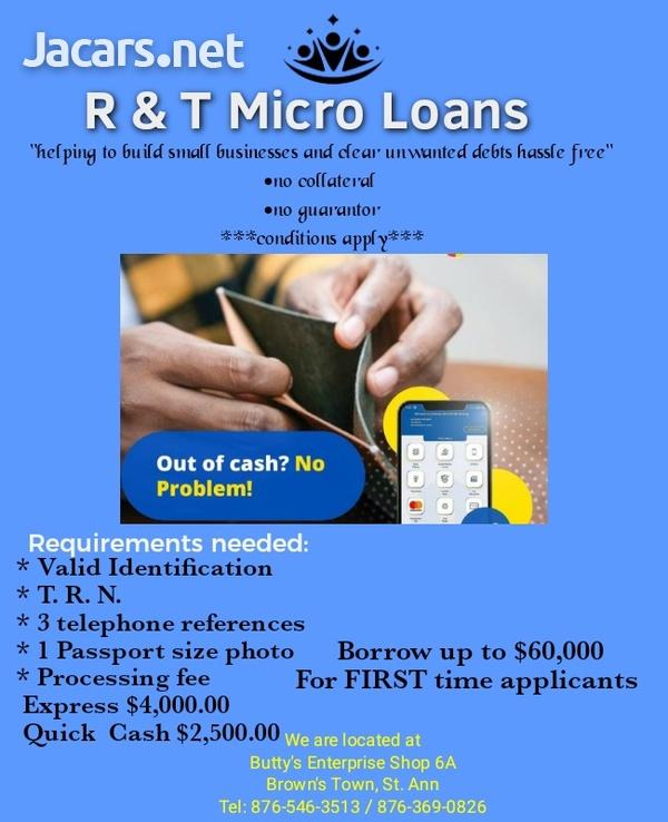 R & T Micro Loans-1