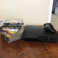 PS3 an 10 games