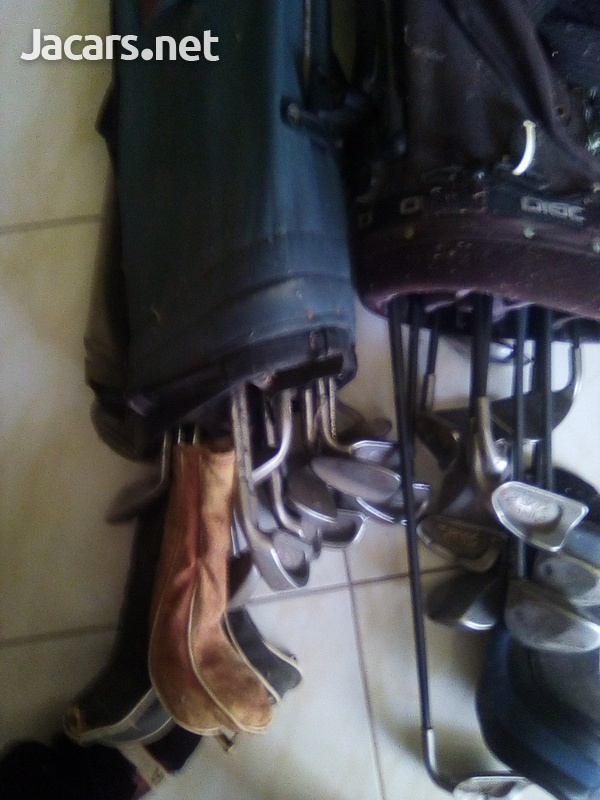 Golf Clubs 2 sets with bags and balls-4