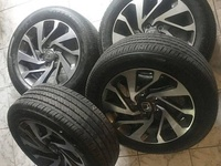 2016 - 2019 Honda Civic Original Rim and Tyres