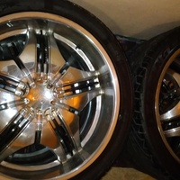 24 Inch rims and tyres 24 305R35