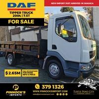 2004 DAF Tipper 7.5T Truck