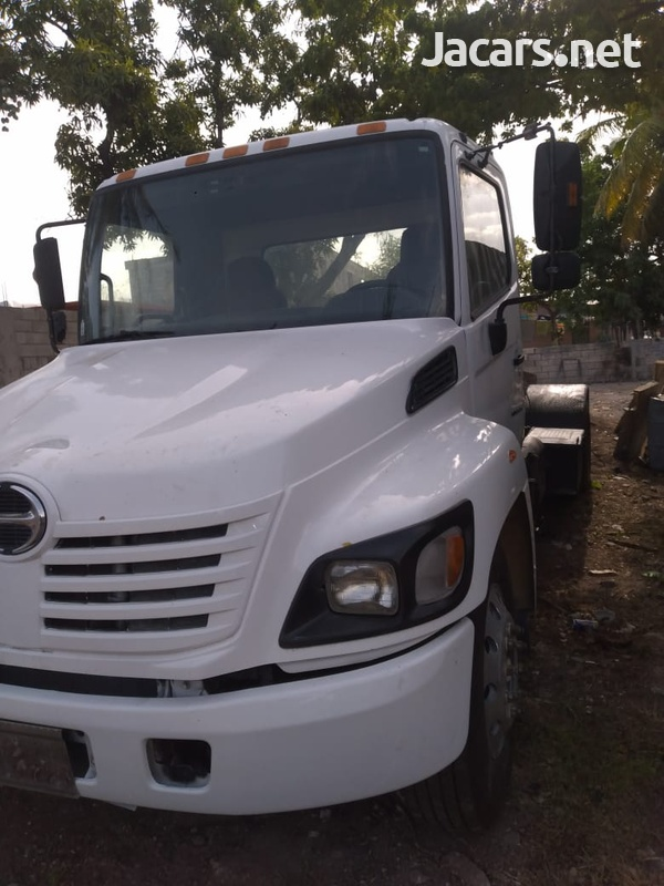 2005 Hino Flatbed and Roll-Off Truck-2