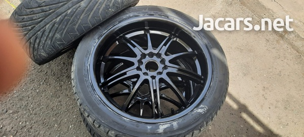 18 inch rims and tyres 245/40/18-8