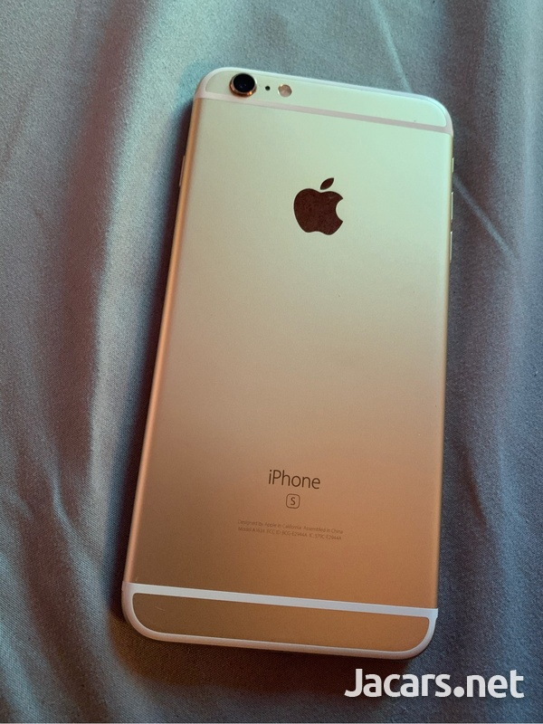 Iphone 6splus silver 128gb-1