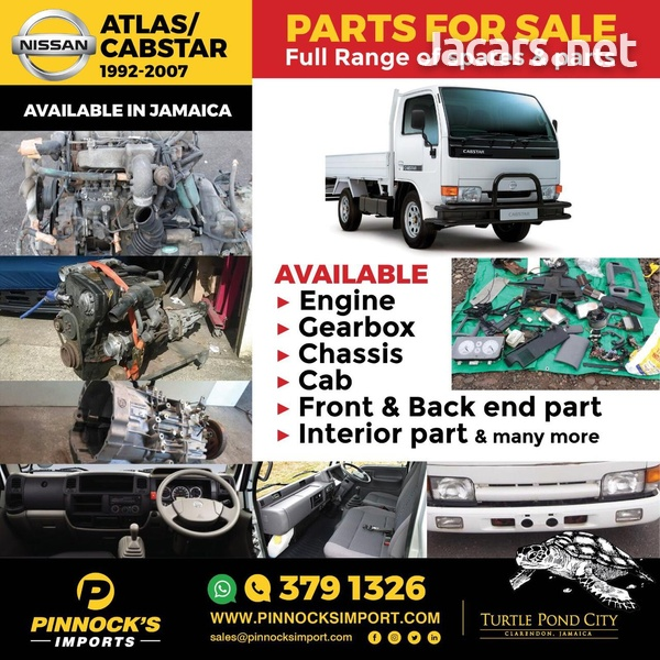 NISSAN ATLAS CABSTAR SPARES AND PARTS-1