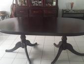 6 seater Mahogany dining table