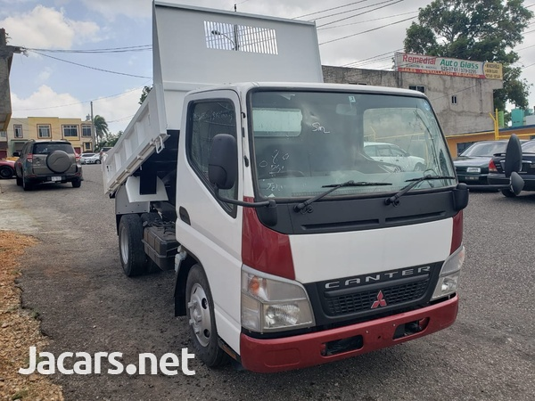 2007 Mitsubishi Canter Dump High Deck Truck-2