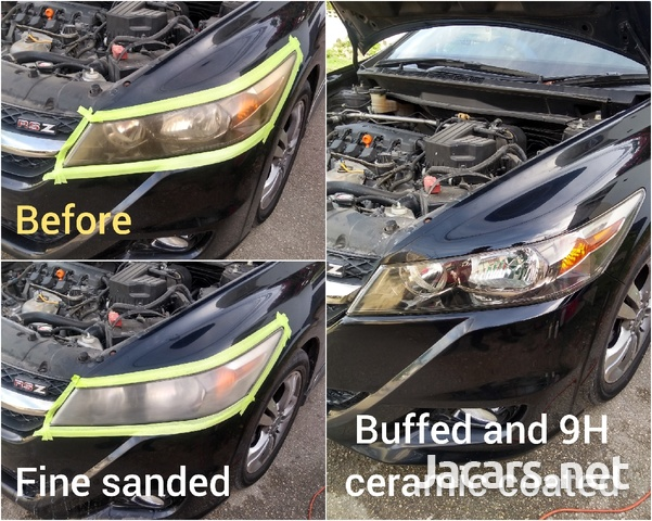 9H ceramic coating head lamp restoration-2