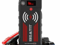 Beatit G18 2000Amp Peak 12V Portable Car Jump Starter 21000mAh