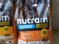 Nutram and Fibs Dog Food