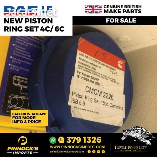 DAF LF NEW PISTON RING SET 4C/6C