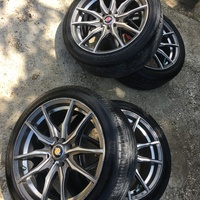 17 inch rim and tyers