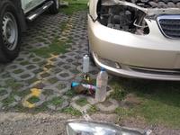 Head lamp restoration service
