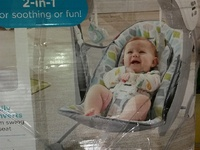 Baby two in one sleep swing