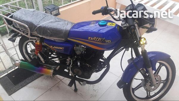 2019 Zhujiang motorcycle, 150 cc-3