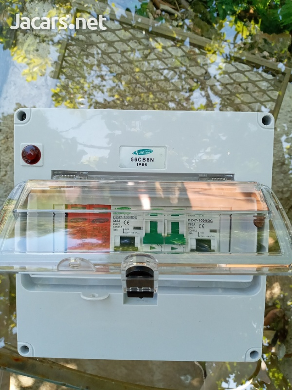 Combiner box, for solar systems.-1