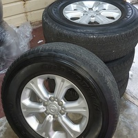 Nissan Frontier 2020 Tyres and Rims
