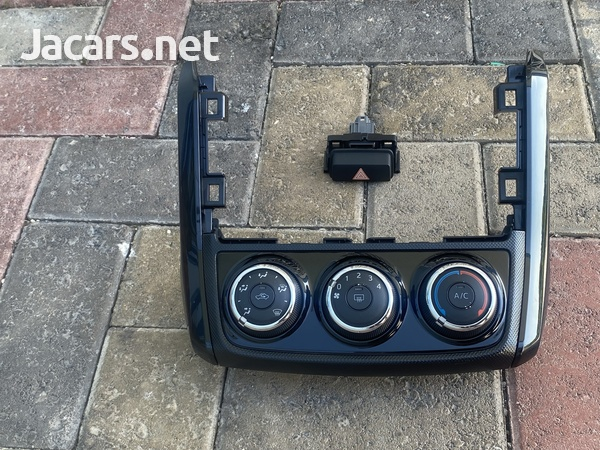 2012-UPWARDS TOYOTA AXIO A/C CONTROLS WITH 4 WAY FLASHER BUTTON-1