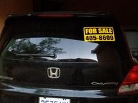 Honda odyssey 2,4L 2005