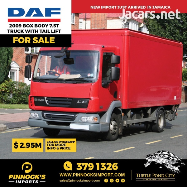 2009 DAF Box Body 7.5T Truck-1