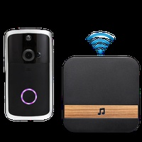 Wifi Door Bell, built-in Camera with Chime