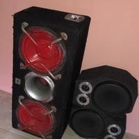 Bass Box 2 JBL 12inch & 2 eminence 10inch Mids