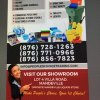 Commercial & Household Cleaning ,Restaurant Supplies