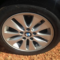 BMW 5-Series 2011 brand new tires