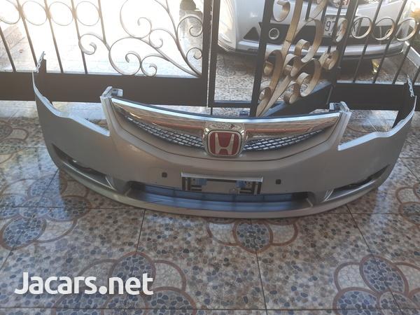 2006-2011 Honda Civic Front Bumper-1
