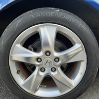 17 inches Honda stock rims and tyres