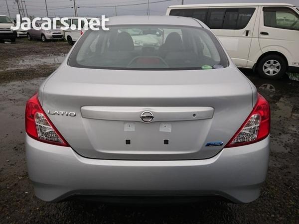 Nissan Latio 1,3L 2016-8