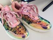 hologram sequin sneaker