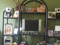 Metal Entertainment stand