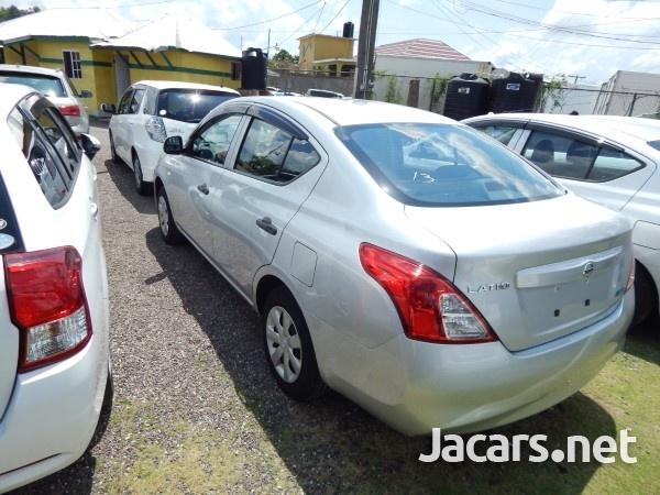 Nissan Latio 1,3L 2014-4