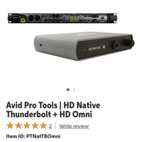 HD native thunderbolt + HD Omni
