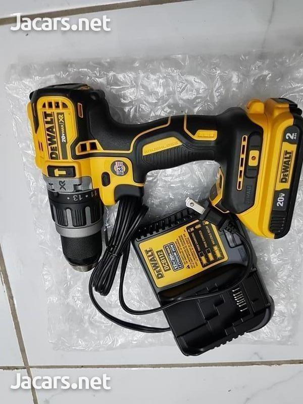 Dewalt Hammer Drill SPECIAL OFFER 2 Batteries-4