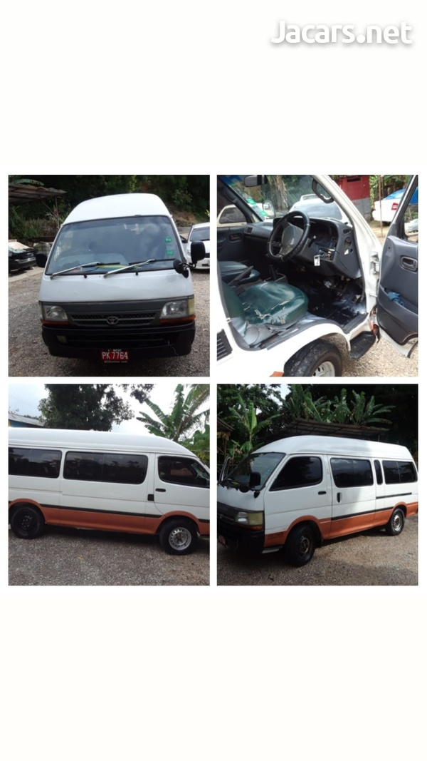2001 Hiace Bus-1