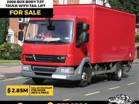 2008 DAF Box Body 7.5T Truck