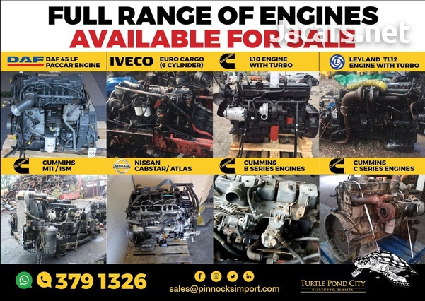 RANGE OF TRUCK ENGINES DAF / ISUZU / MITSUBISHI AND MORE-4